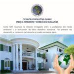 Opinión Consultiva sobre medio ambiente y derechos humanos