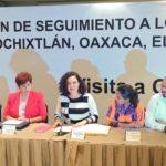 Admiten amparo contra el congreso de la unión por informe del caso Nochixtlán