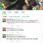 """Los """"tweets verdes"""" que violaron la veda electoral en 2015"""