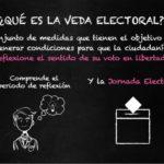 La veda electoral. Definición, objeto y fundamento.