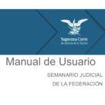 Manual de usuario del Semanario Judicial de la Federación