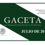 JULIO DE 2018 – Gaceta del Semanario Judicial de la Federación