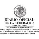Publicación de la reforma constitucional en materia de prisión preventiva oficiosa