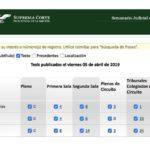 Jurisprudencias y Tesis Aisladas publicadas el 05 de abril de 2019