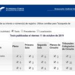 Jurisprudencias y Tesis Aisladas publicadas el 11 de octubre de 2019