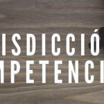 Jurisdicción y Competencia I   Marco Alfonso Sánchez